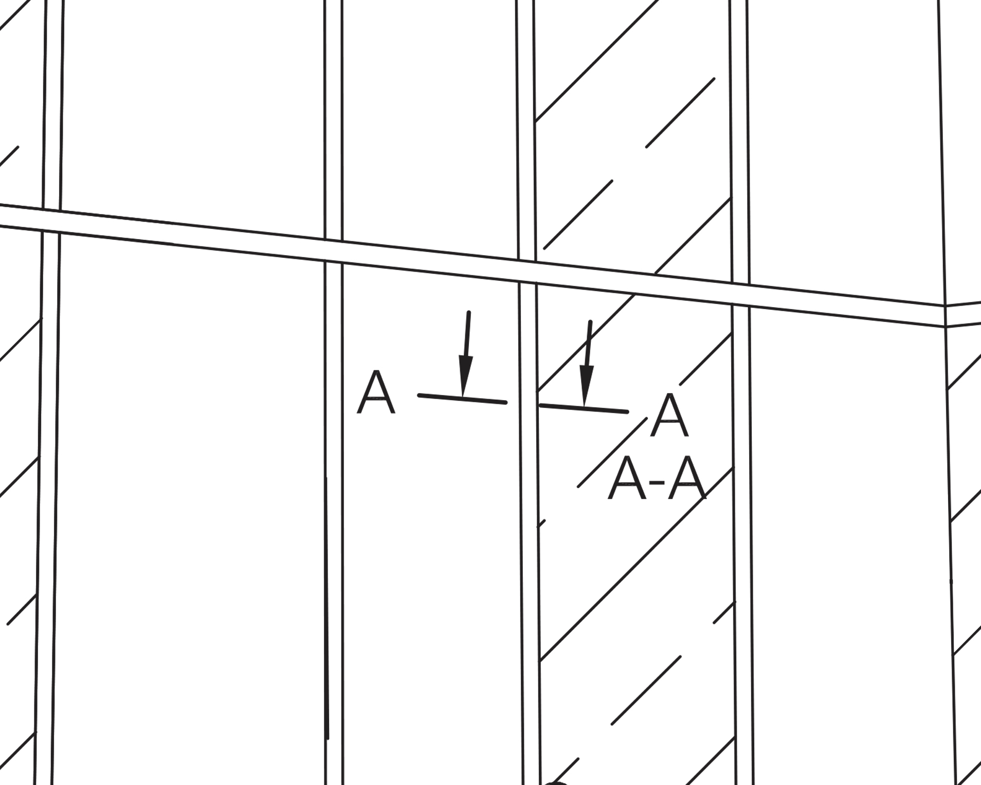 Horizzontal Cross / Section A-A