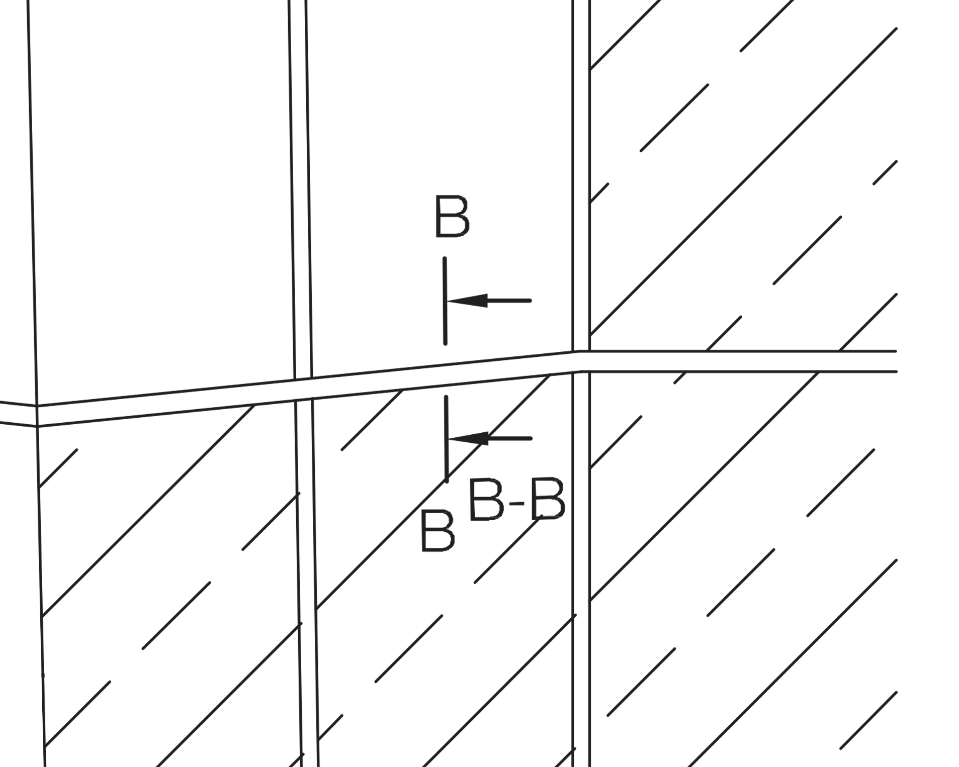 Vertical Cross / Section B-B