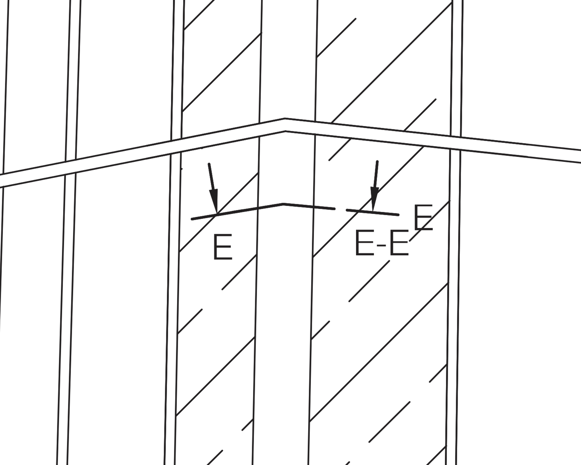 External Corner / Section E-E