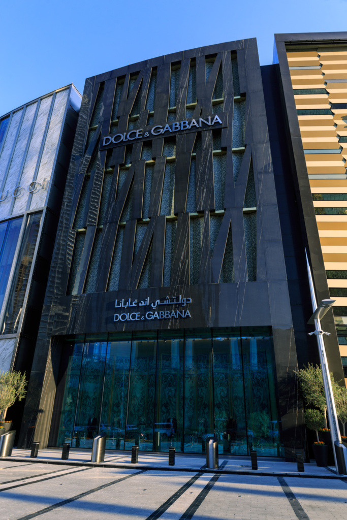 Dolce and Gabbana Exterior DXB Mall - 02