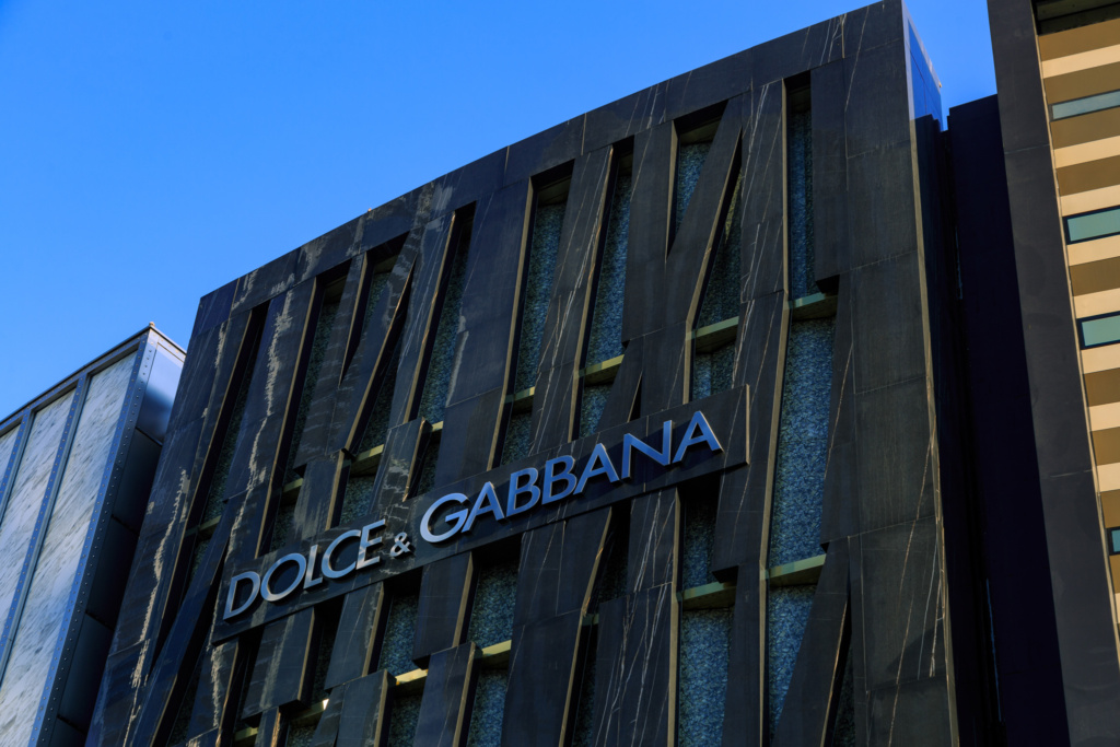 Dolce and Gabbana Exterior DXB Mall - 04