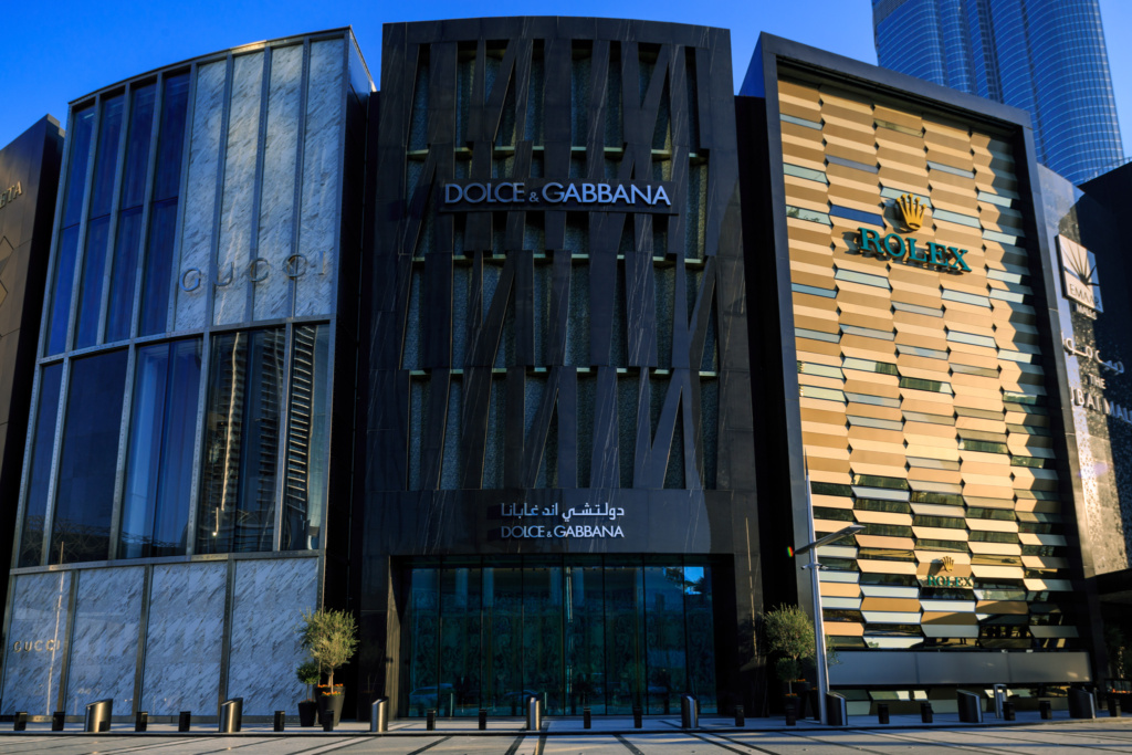 Dolce and Gabbana Exterior DXB Mall - 13