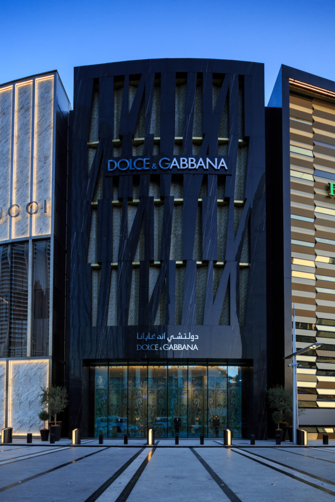 Dolce and Gabbana Exterior DXB Mall - 23
