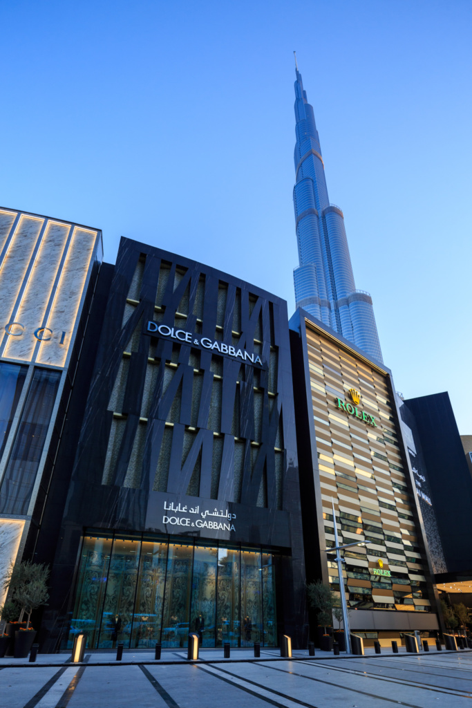 Dolce and Gabbana Exterior DXB Mall - 24