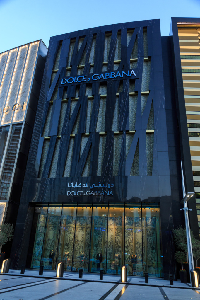 Dolce and Gabbana Exterior DXB Mall - 31