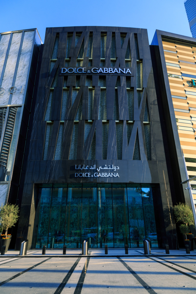 Dolce and Gabbana Exterior DXB Mall - PR Size - 09
